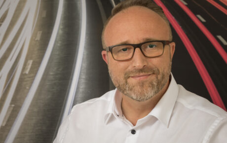 Porträtfoto von Sébastien Probst, Leiter Tankstellen Region West