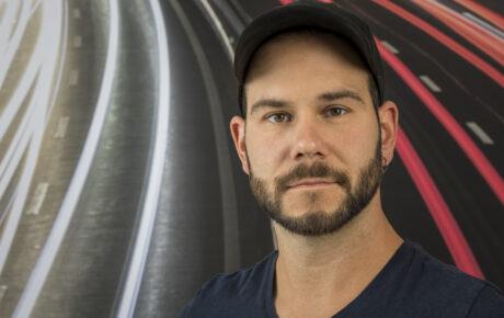Porträtfoto von Roger Fischbacher, Techniker